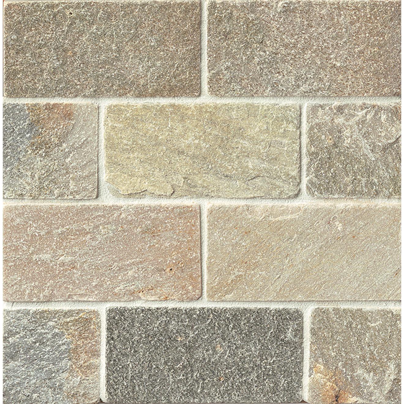 "Amber Gold 3"" x 6"" Floor Tile"