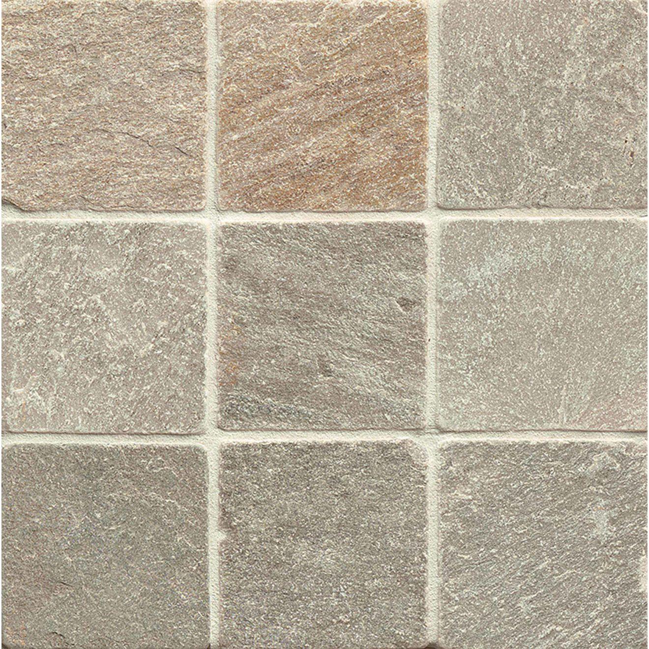 "Amber Gold 4"" x 4"" Floor Tile"