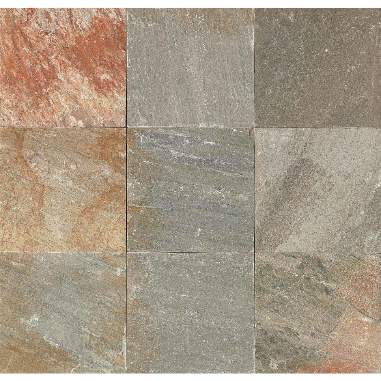 "Amber Gold 16"" x 16"" Floor Tile"