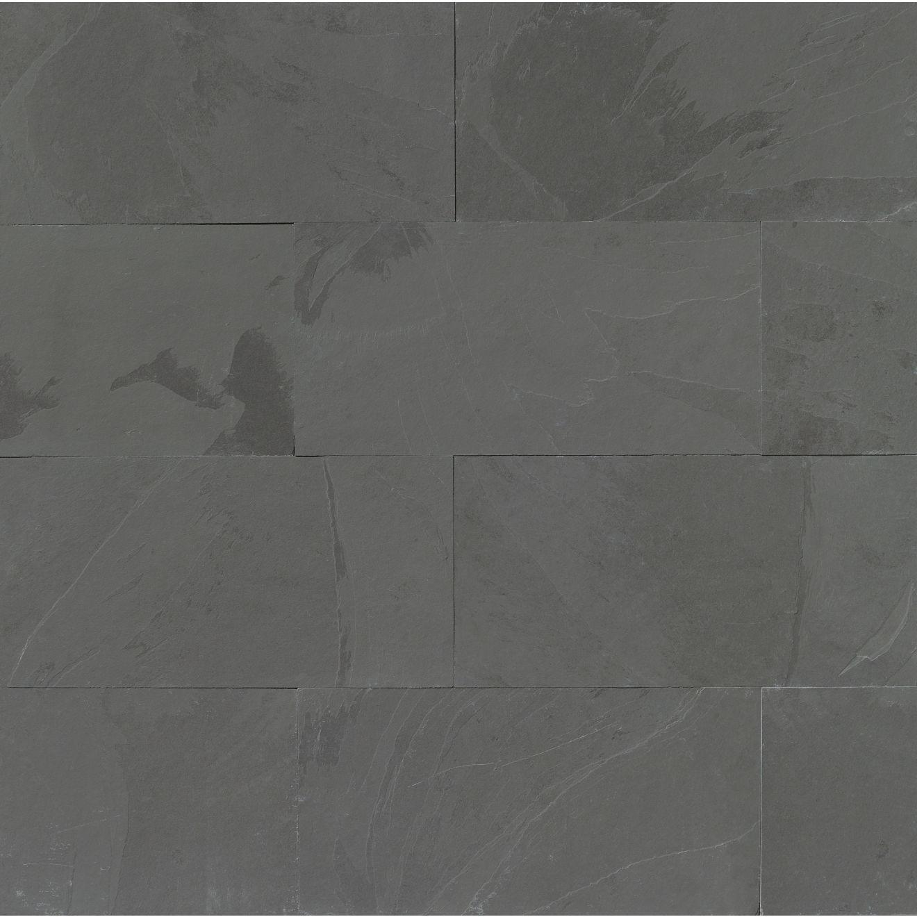 "Black Pearl 12"" x 24"" Floor & Wall Tile"
