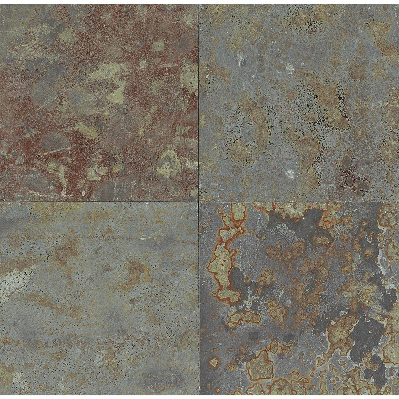 "Brazilian Multicolor 24"" x 24"" Floor & Wall Tile"