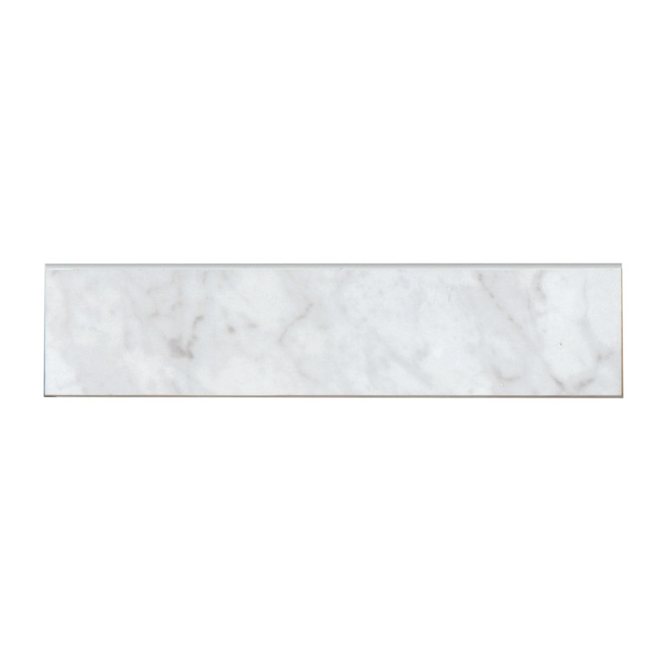 """Classic 2.0 3"""" x 12"""" Trim in Bianco Carrara"""