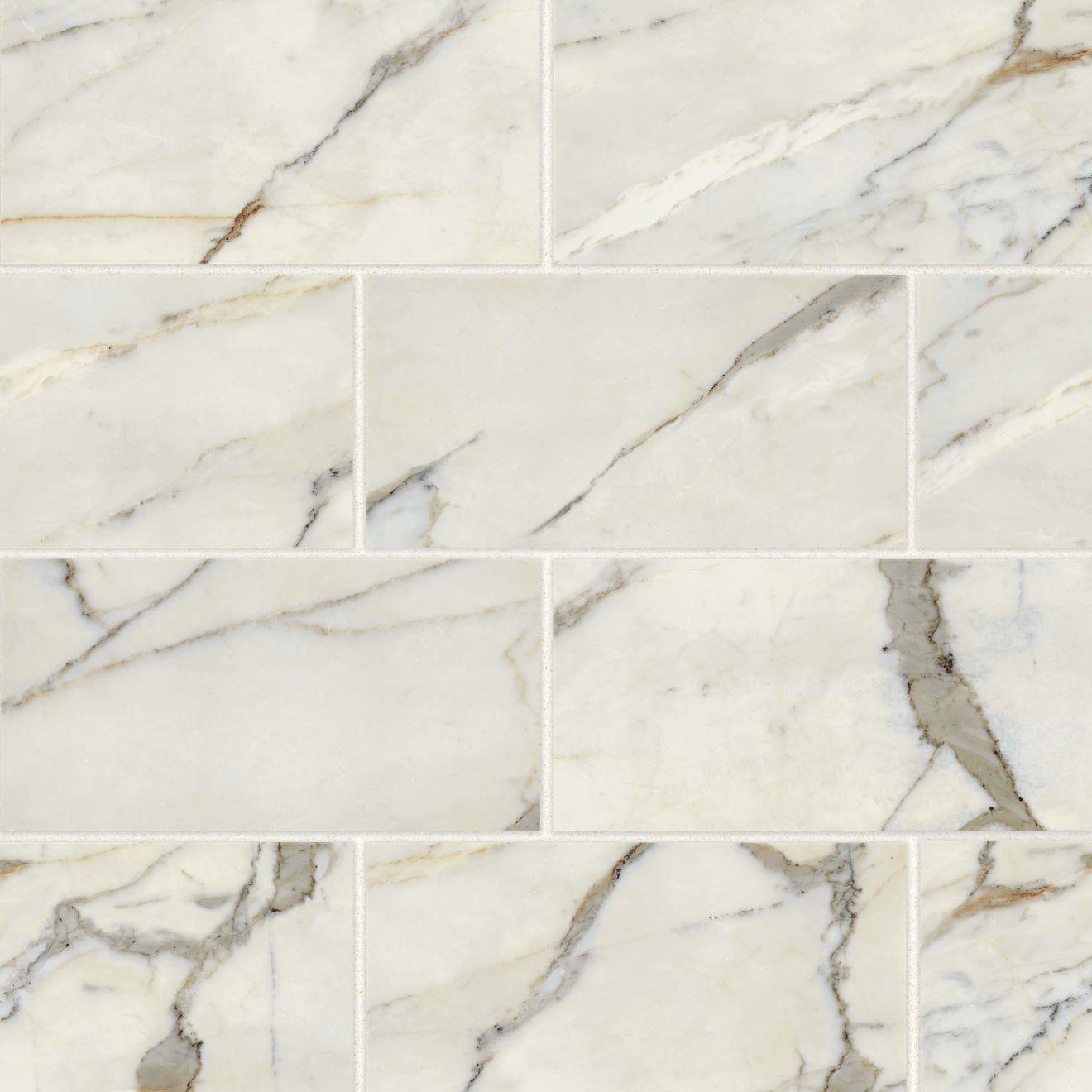 "Classic 2.0 12"" x 24"" Floor & Wall Tile in Calacatta Oro"