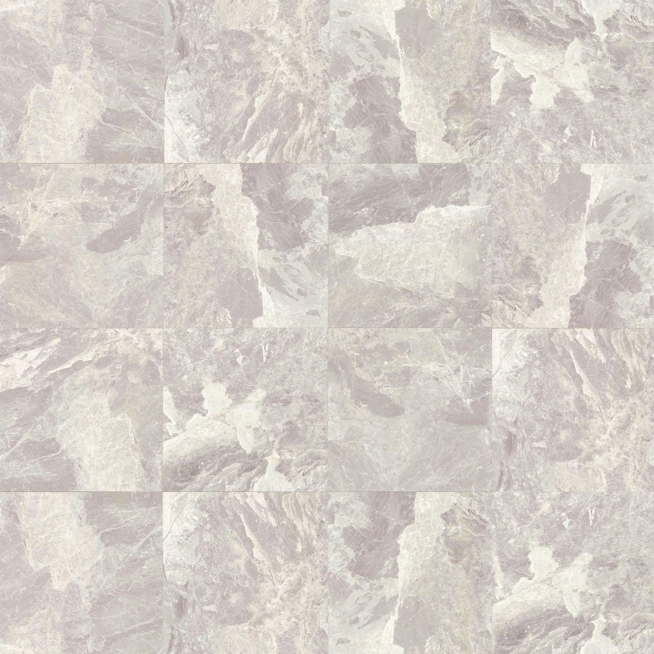 "Classic 12"" x 12"" Floor & Wall Tile in Bardiglietto"