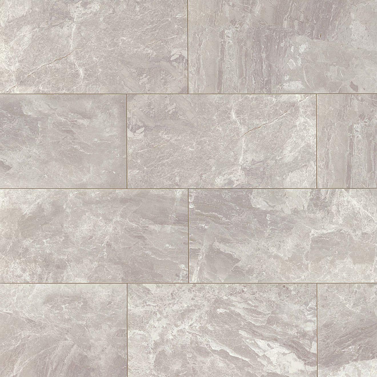 "Classic 12"" x 24"" Floor & Wall Tile in Bardiglietto"