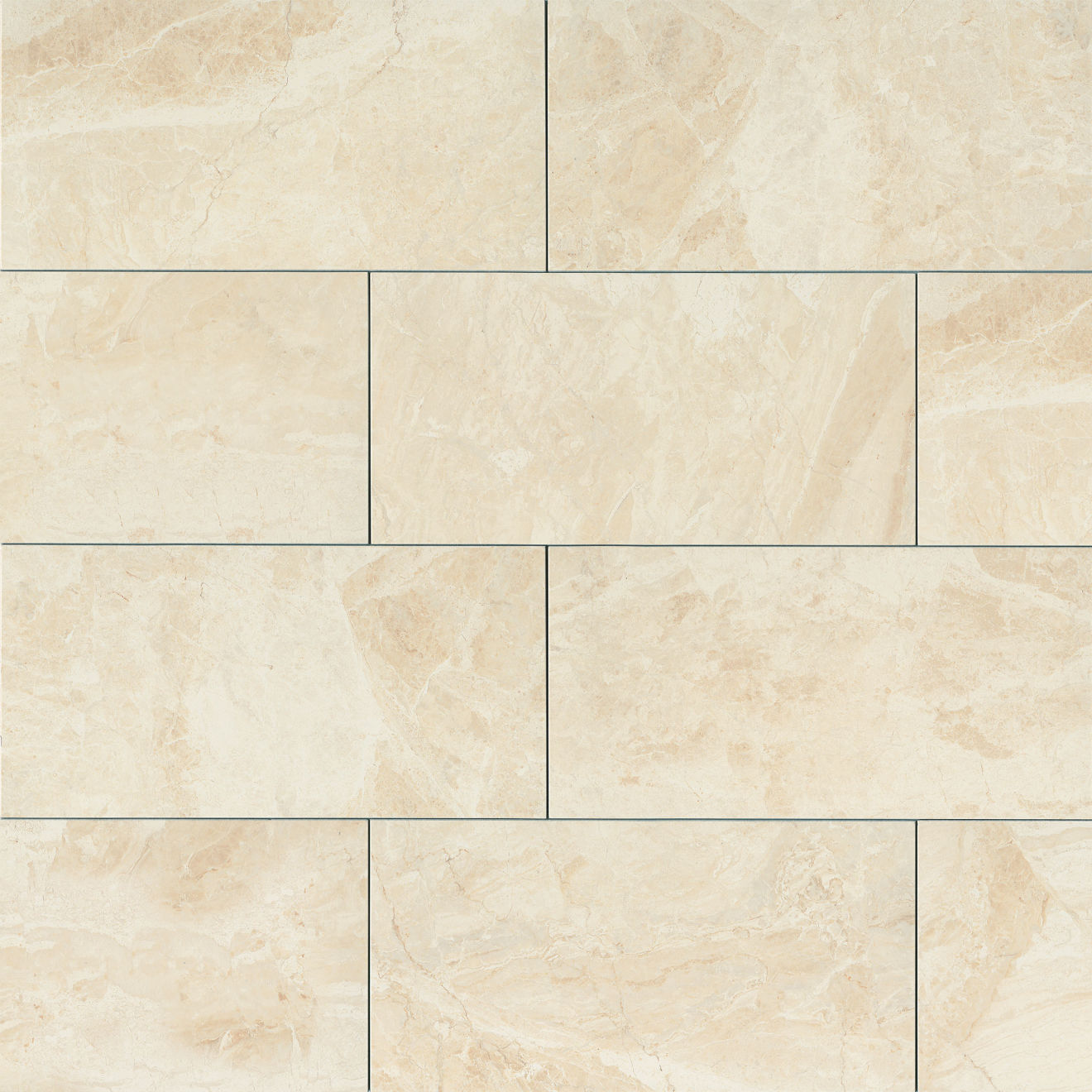 "Classic 12"" x 24"" Floor & Wall Tile in Cremino"