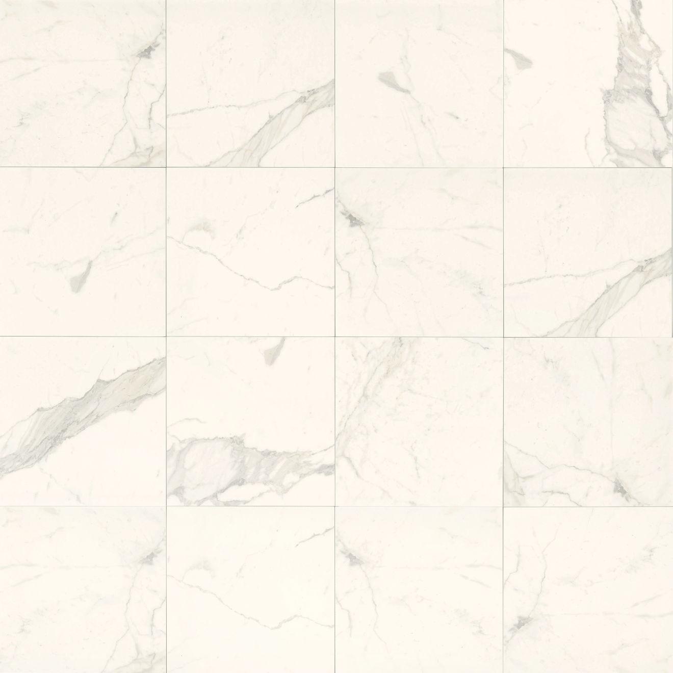 "Classic 12"" x 12"" Floor & Wall Tile in Statuarietto"