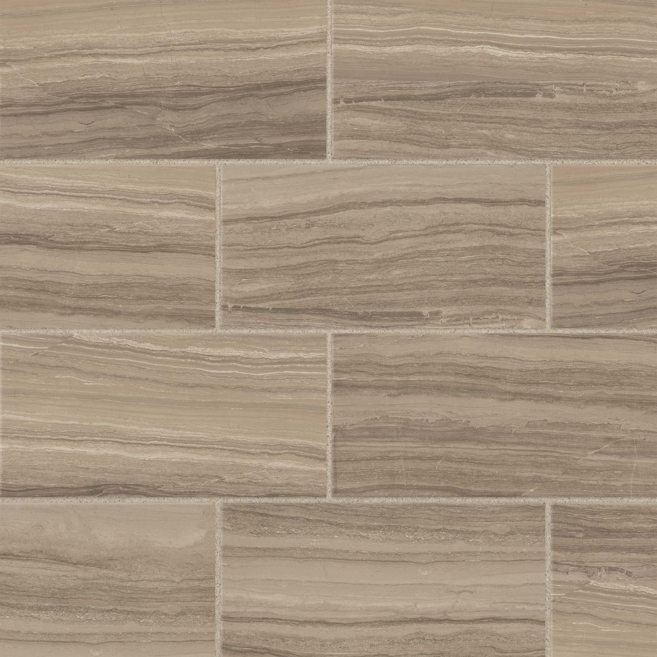 "Highland 12"" x 24"" Floor & Wall Tile in Beige"
