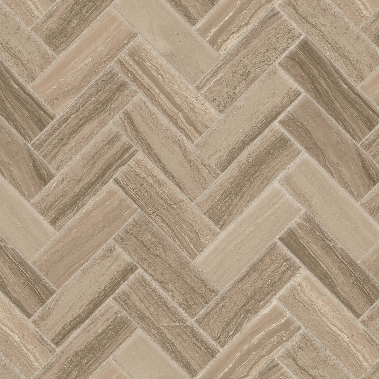 "Highland 1"" x 4"" Floor & Wall Mosaic in Beige"