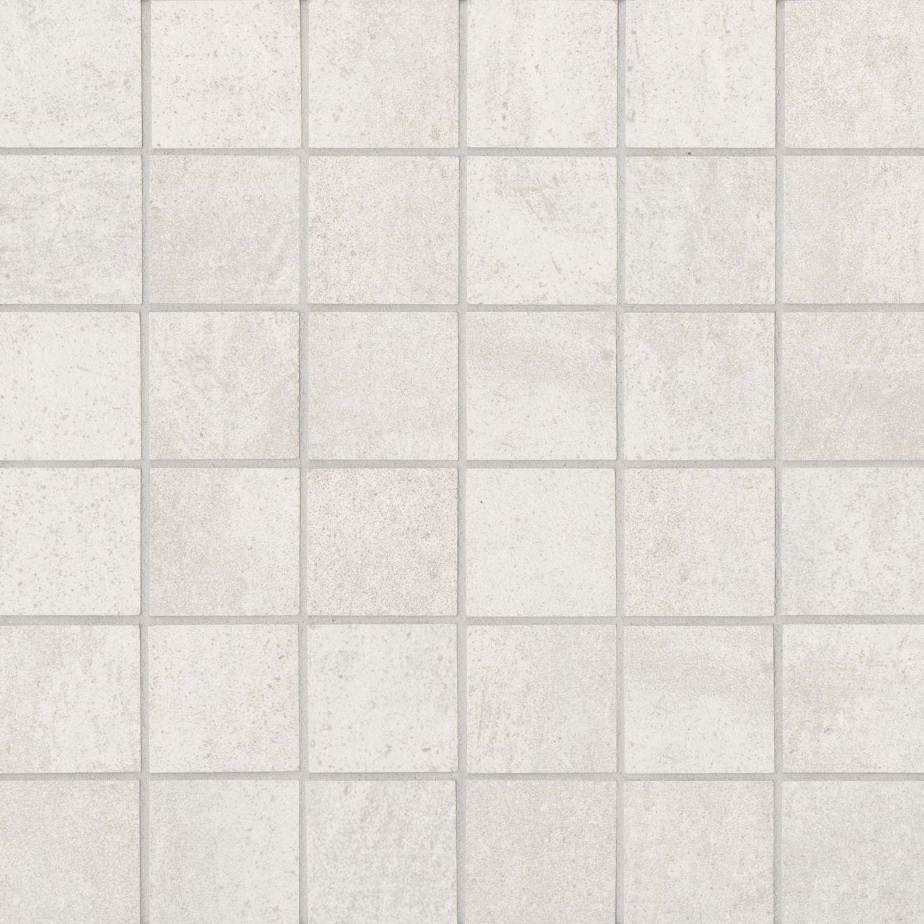 "Simply Modern 2"" x 2"" Floor & Wall Mosaic in Creme"