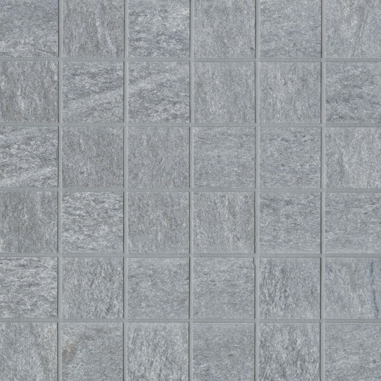 "Urban 2.0 2"" x 2"" Floor & Wall Mosaic in Lava Grey"