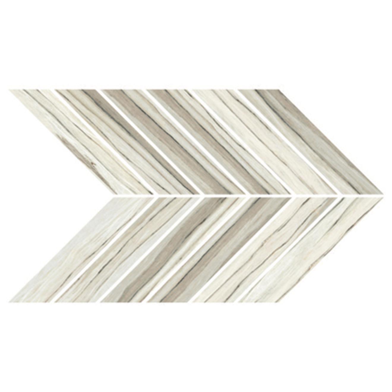 Zebrino Floor & Wall Mosaic in Classico