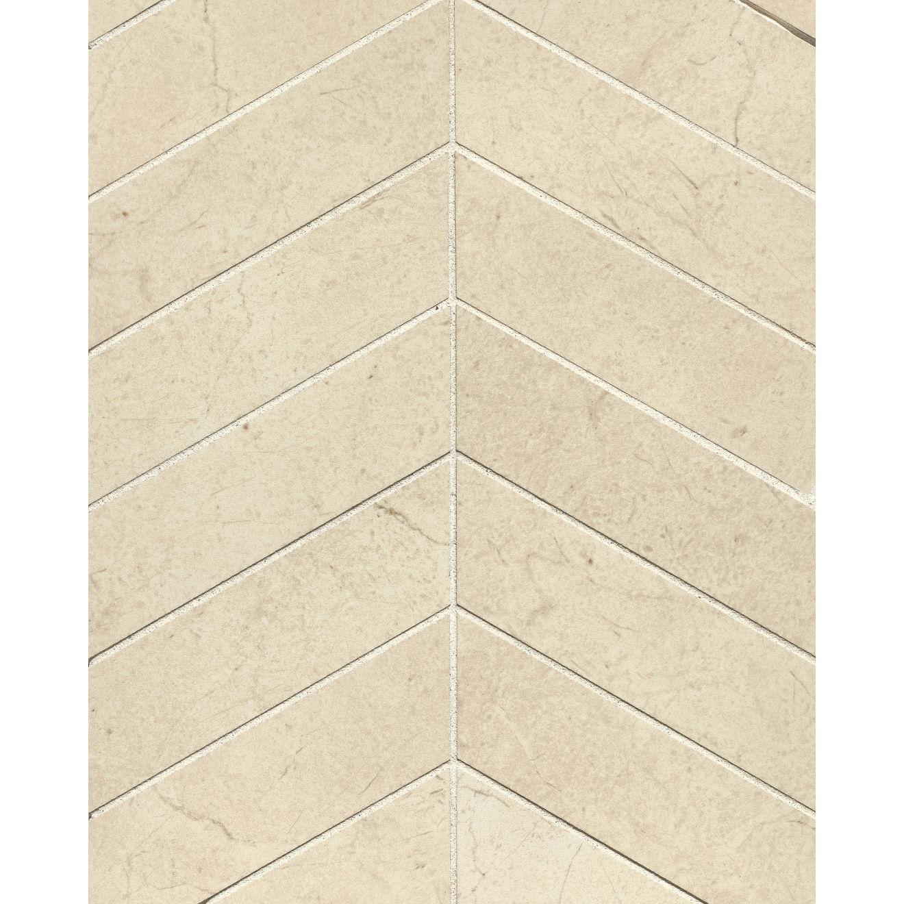 "Marfil 2"" x 2"" Floor & Wall Mosaic in Bianco"