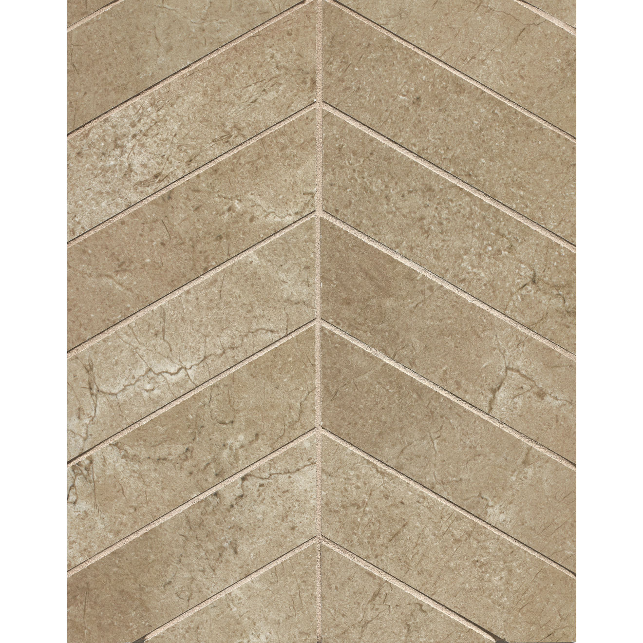 "Marfil 2"" x 2"" Floor & Wall Mosaic in Noce"