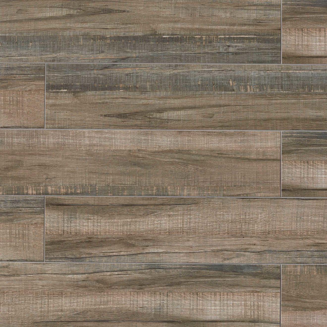 "Forest 8"" x 48"" Floor & Wall Tile in Walnut"