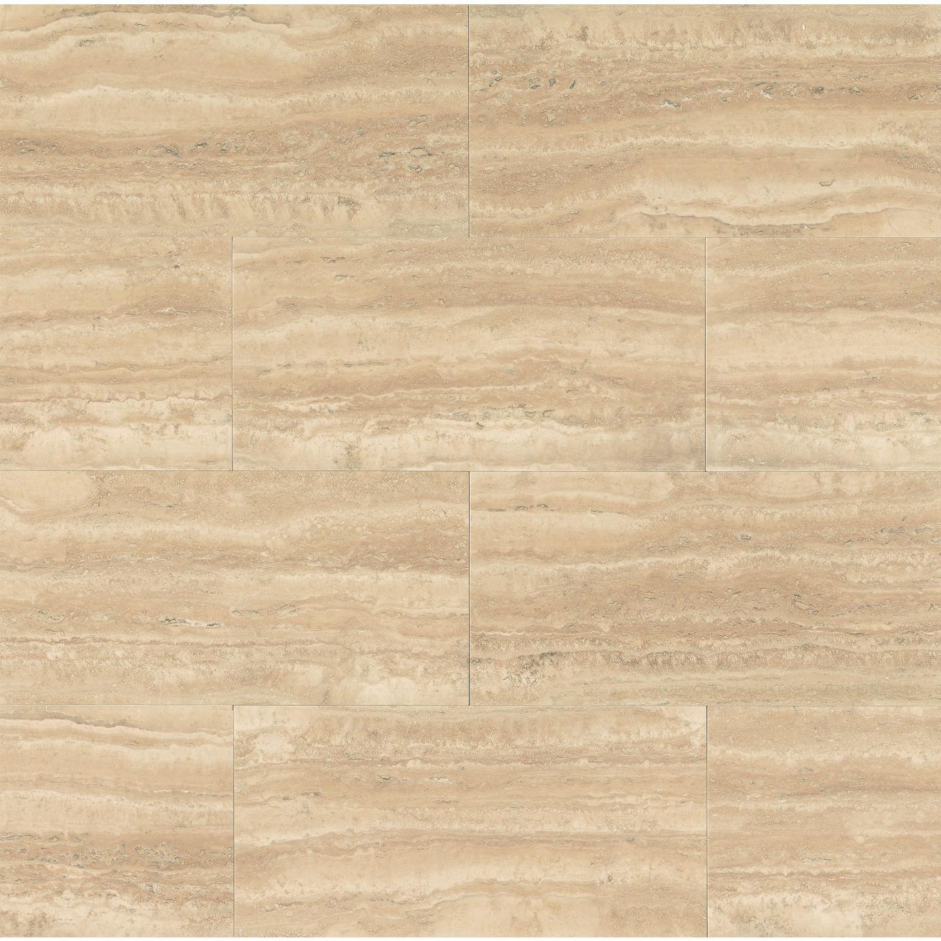 """Aymaran Cream 18"""" x 36"""" Wall Tile"""