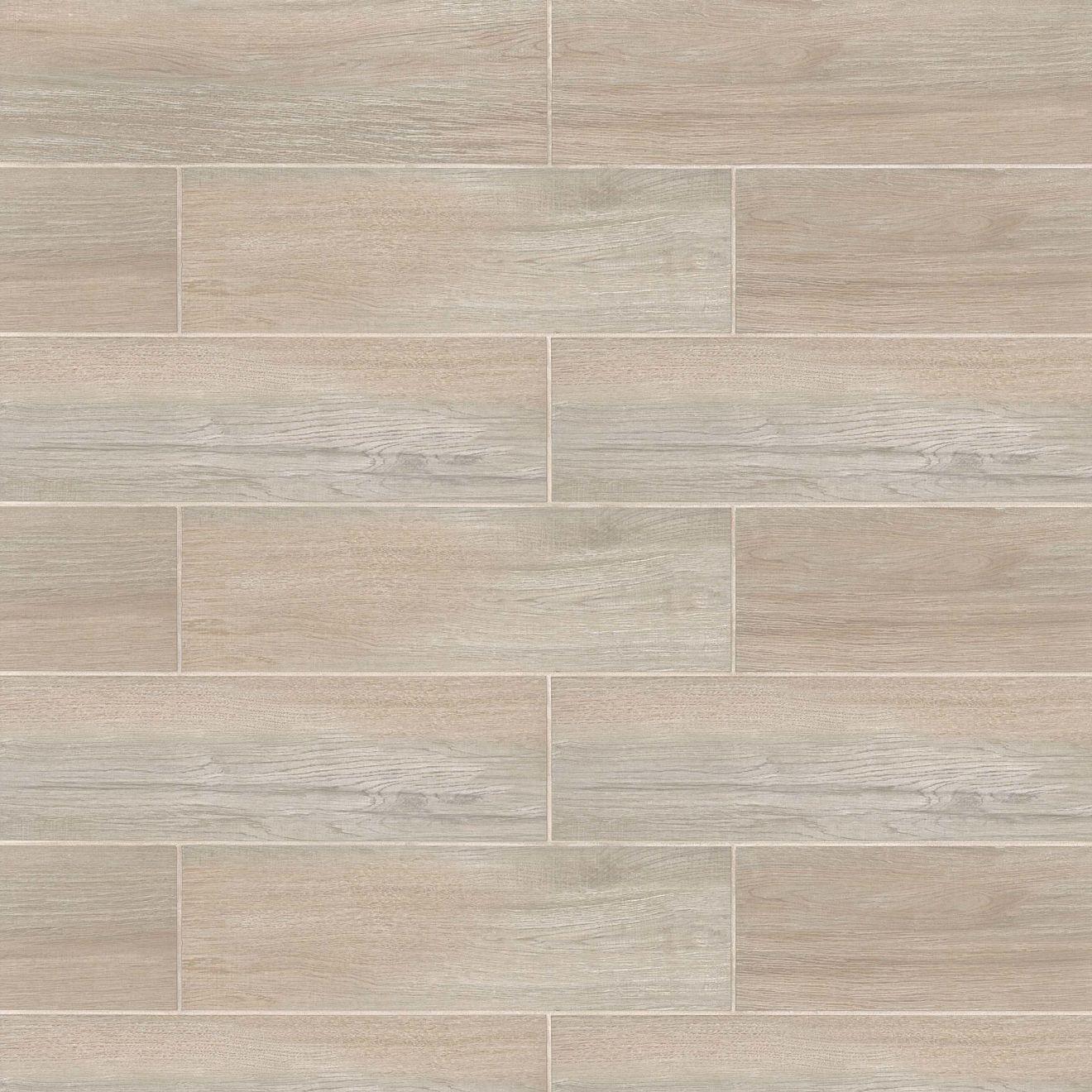 """Balboa 7"""" x 24"""" Floor & Wall Tile in Beige"""