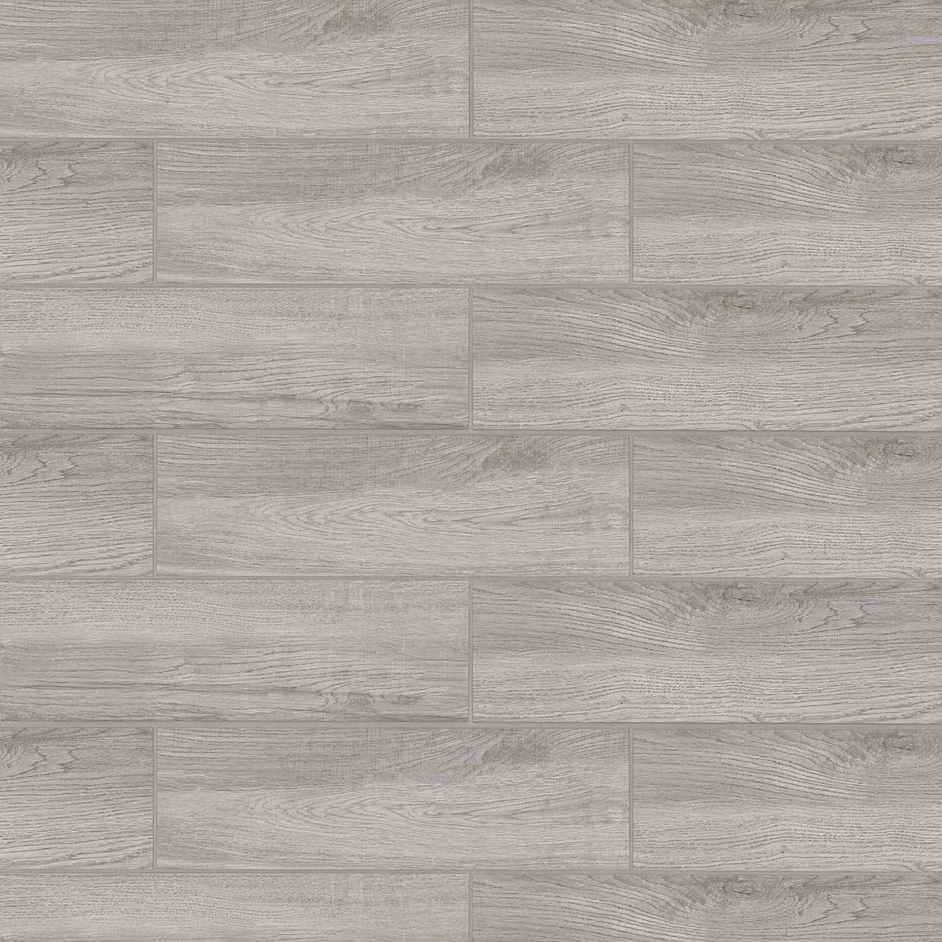 """Balboa 7"""" x 24"""" Floor & Wall Tile in Grey"""