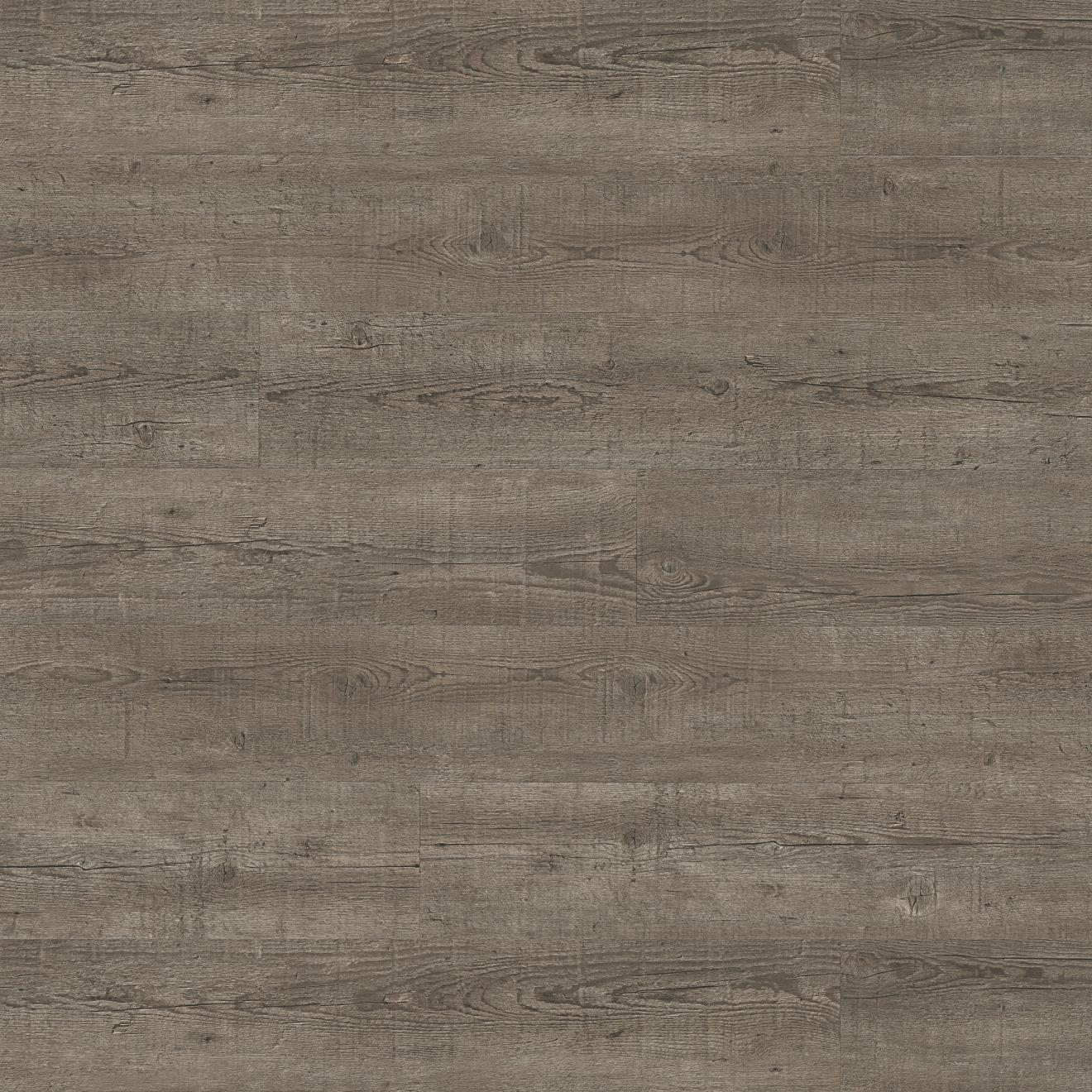 "Madera 7"" x 48"" Luxury SPC Vinyl Flooring in Barnwood Oak"