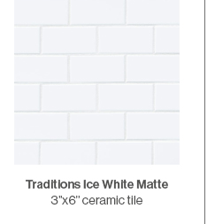 Traditions Ice White Matte