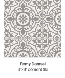 Remy Damsel cement tile