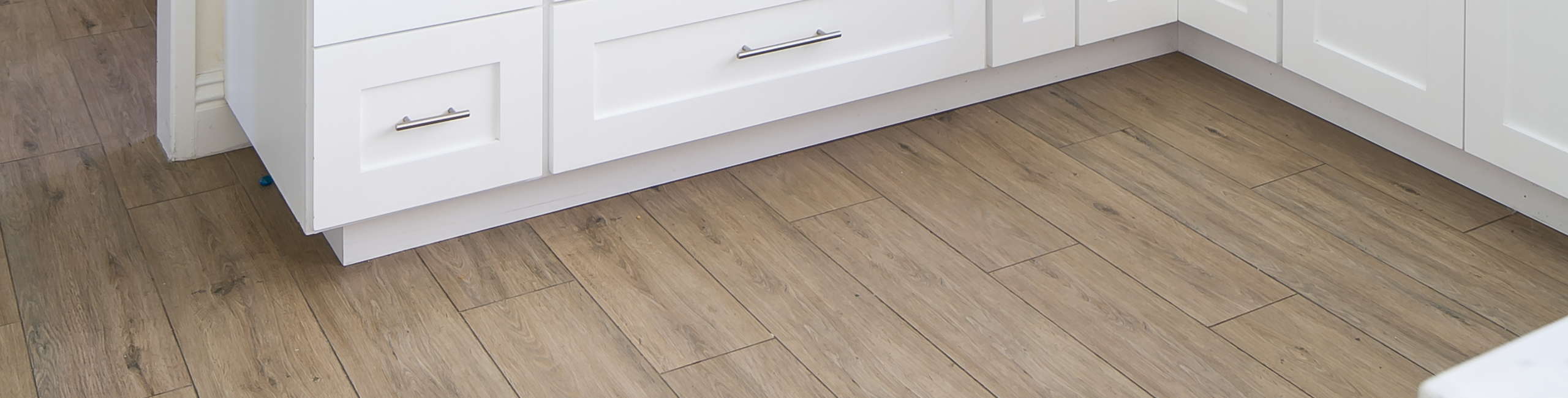 Our 7 Favorite Wood-look Porcelain Tiles - Shown: Titus Camel