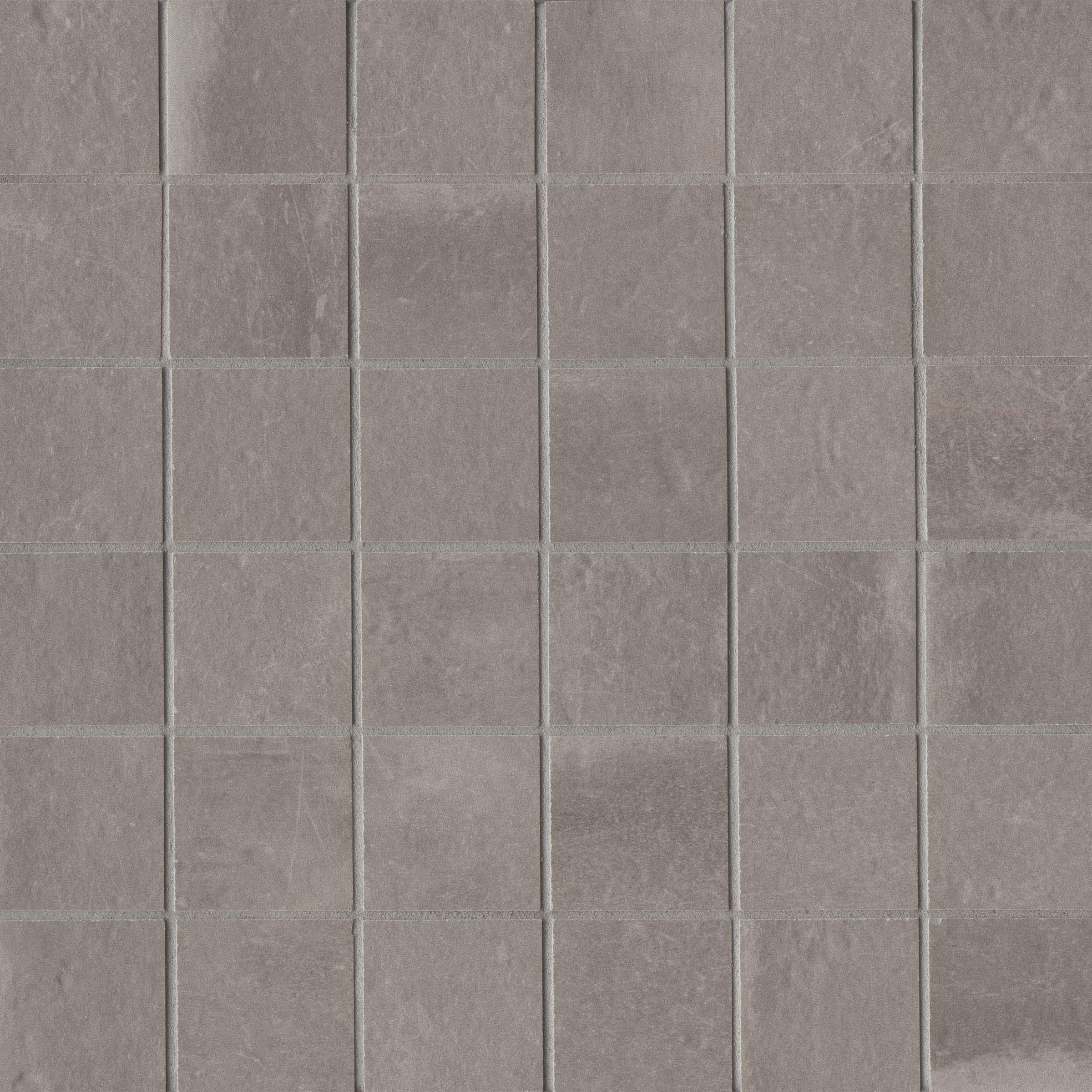 Palazzo 12 X 12 Decorative Tile In Vintage Grey Florentina
