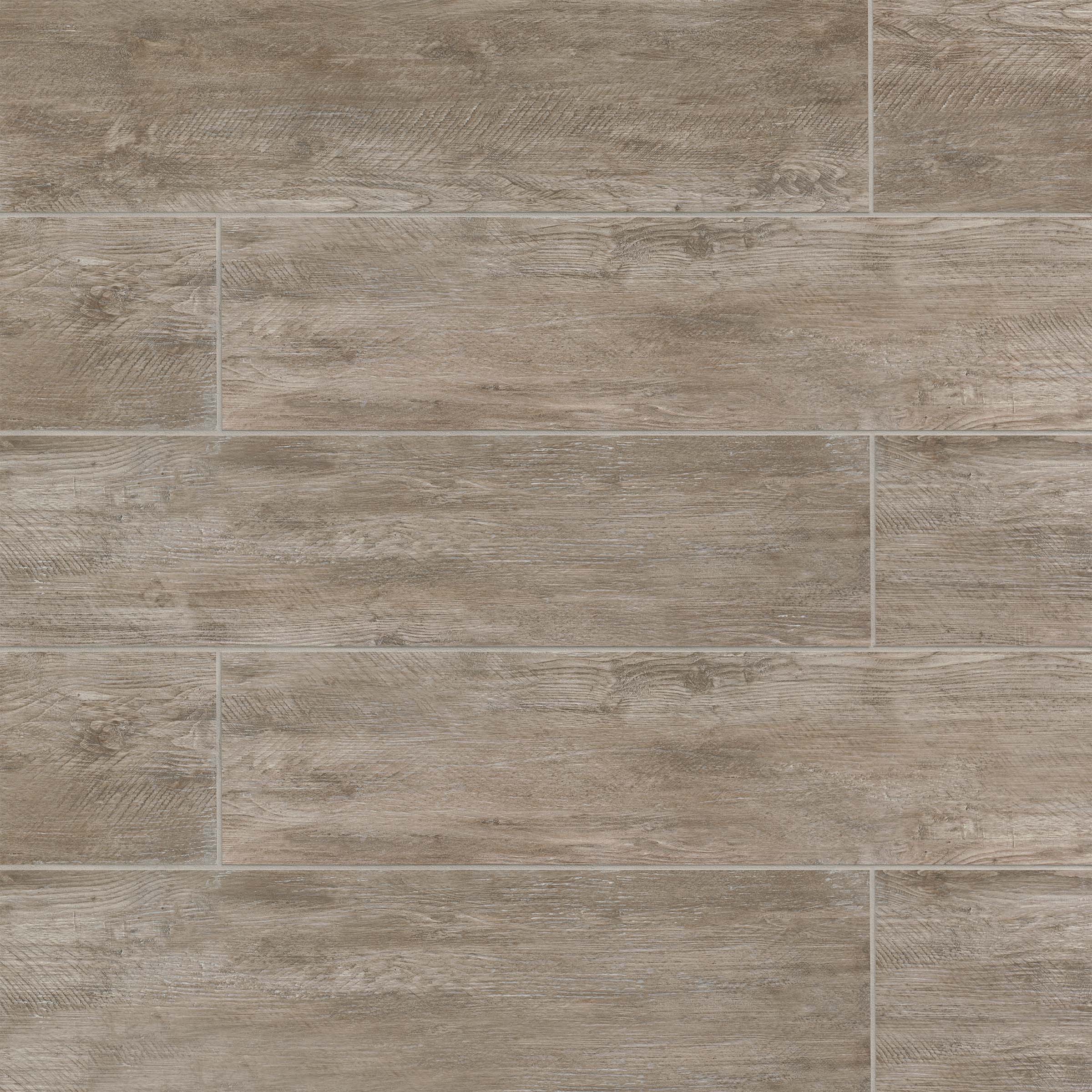 River Wood 8 X 36 Floor Wall Tile In Taupe