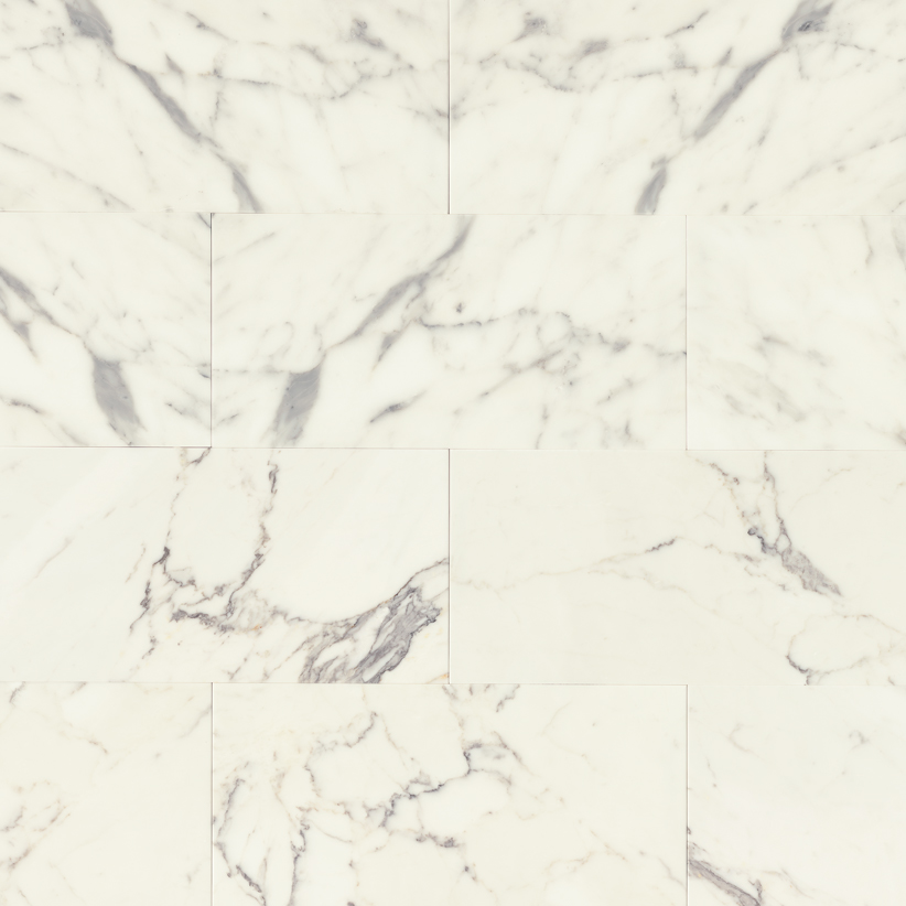 Calacatta Oro honed marble slab