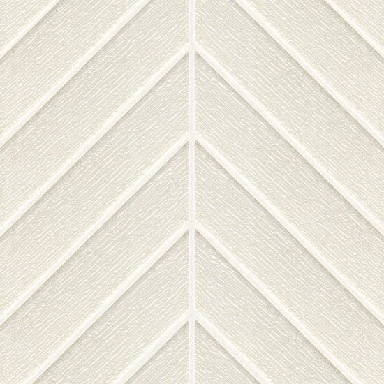 Verve Cloud Nine Textured Gloss Chevron Glass Mosaic