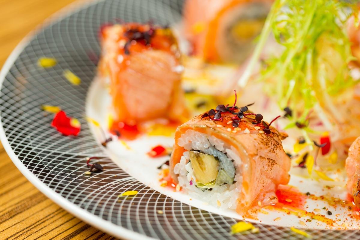 梅香炙鮭卷