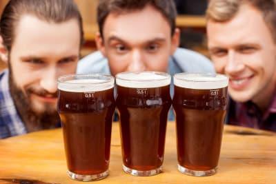 Three Guys Enjoying the Perfect Beer Gift