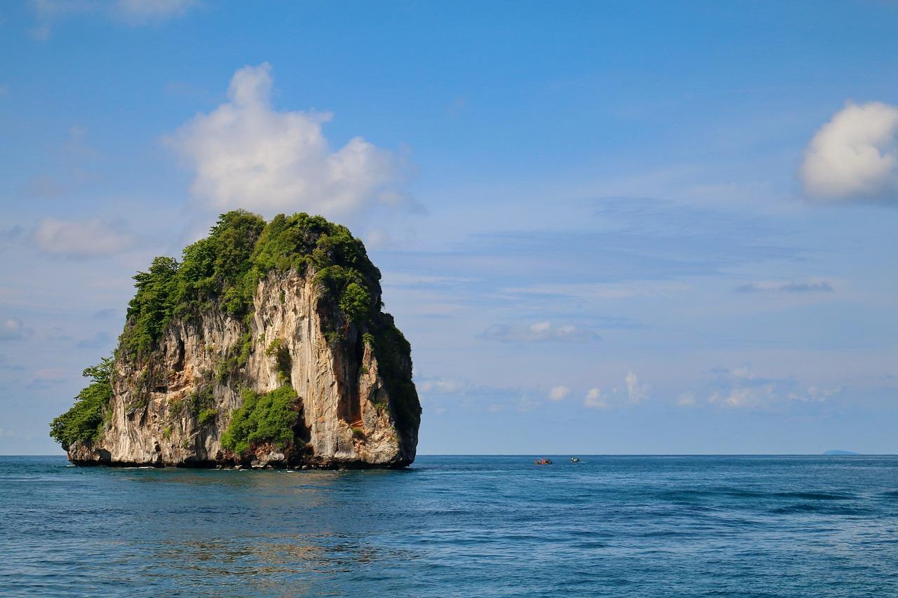 Fabuleux paysages en Thailande