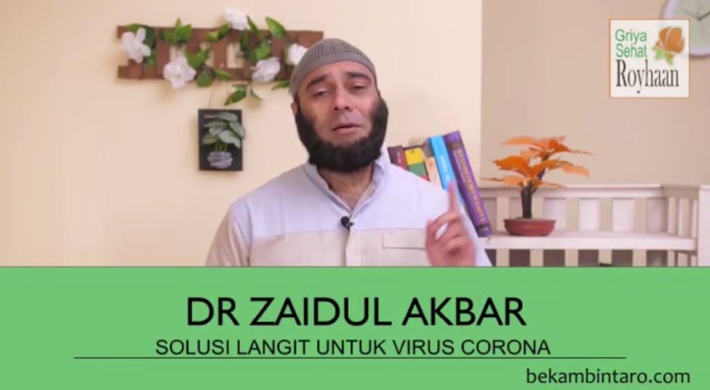 dr Zaidul Akbar Virus Corona oleh BekamBintaro