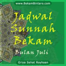 BekamBintaro.com Jadwal Sunnah Bekam Hijamah