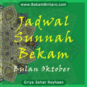 Jadwal Sunnah Bekam Bulan Oktober Tahun Ini