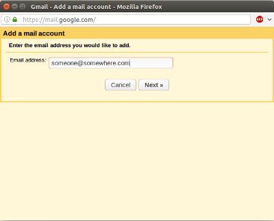 gmail add address