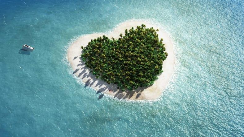 Kalp Şeklinde Ada