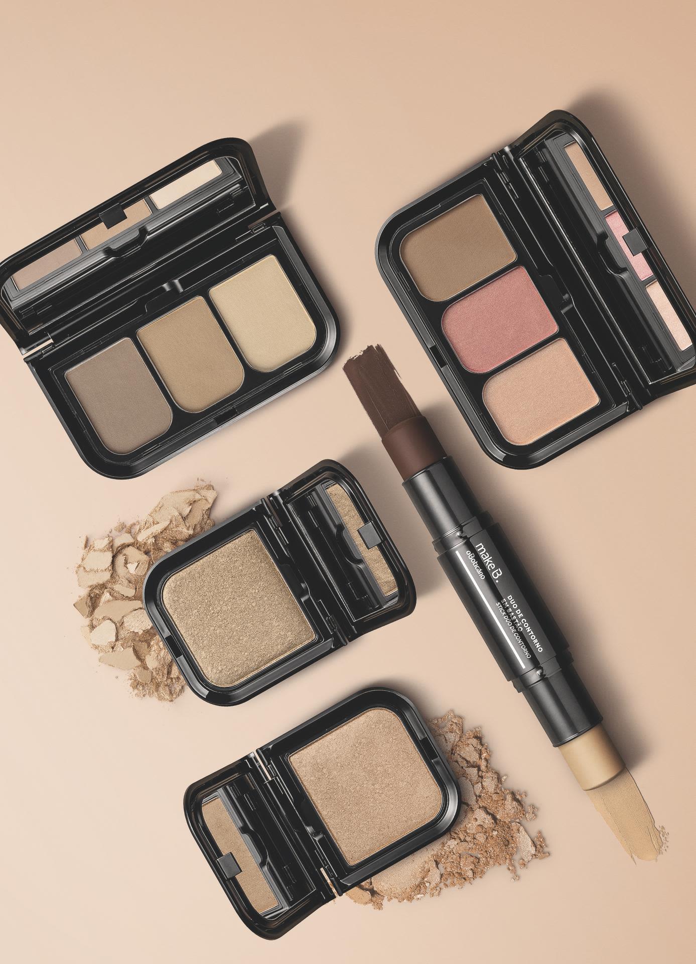 Quais as cores de blush mais adequadas paraa maquiagem de verão?