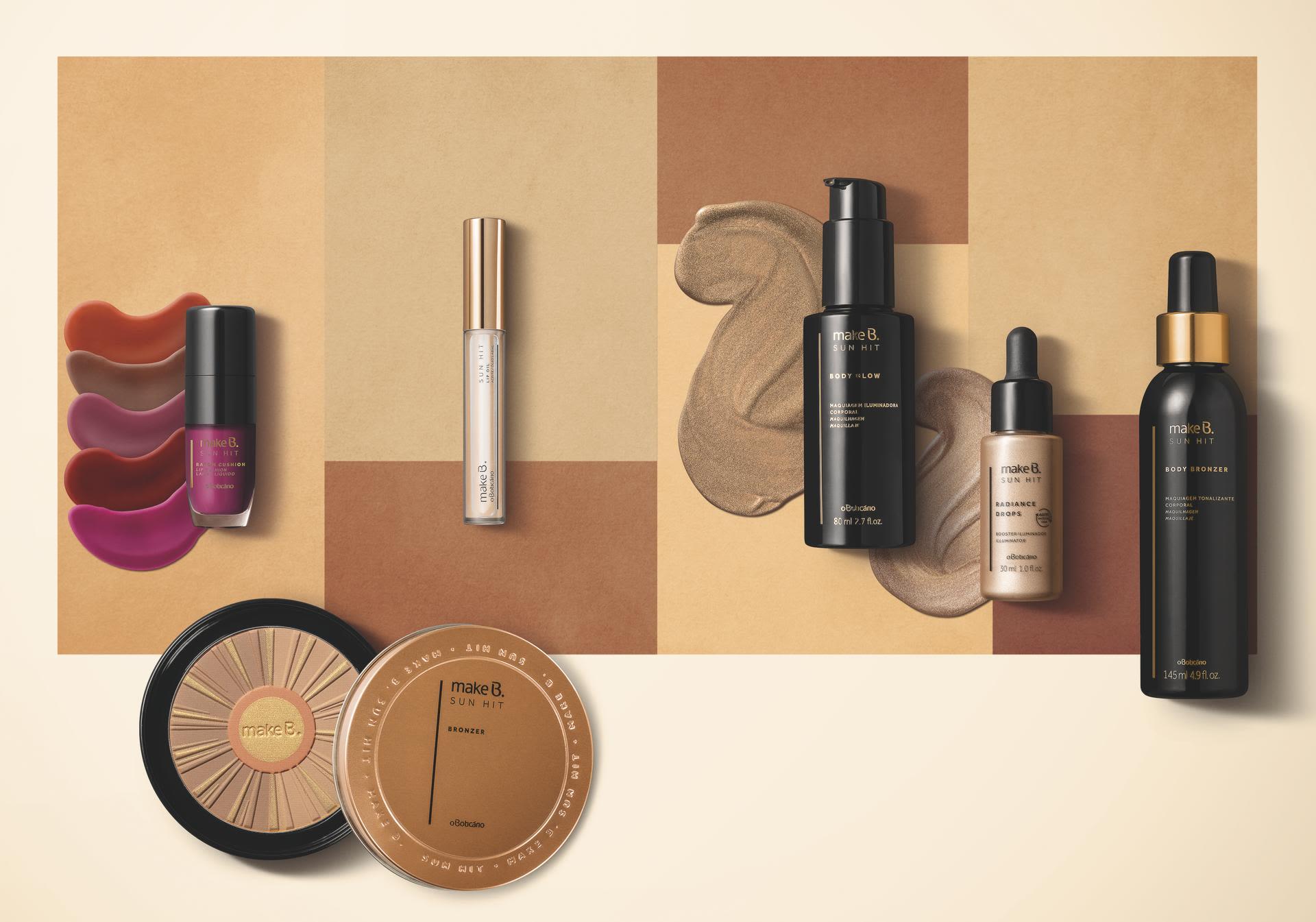 Como usar a maquiagem bronzeada?