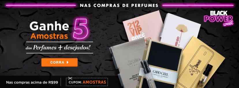 Perfumes: Black Sale 5 amostras