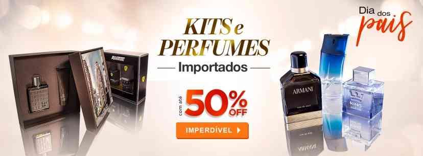 Perfumes: Kits e Perfumes Importados por até a metade do preço