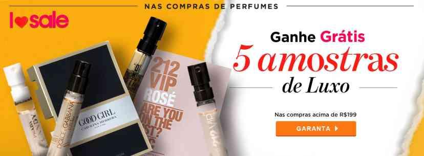 Perfumes: 5 Amostras em Perfumes AGOSTO