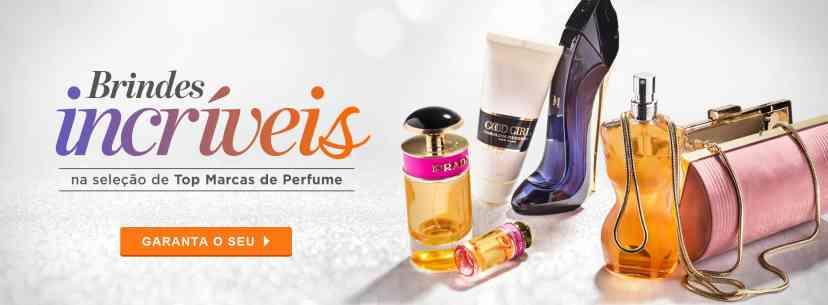 Perfumes: ganhe brinde
