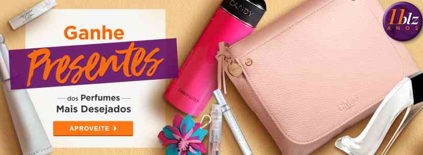 Perfumes: Ganhe Brindes Aniversario