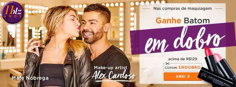 Maquiagem: Ganhe 48291 e 48290 acima de R$129