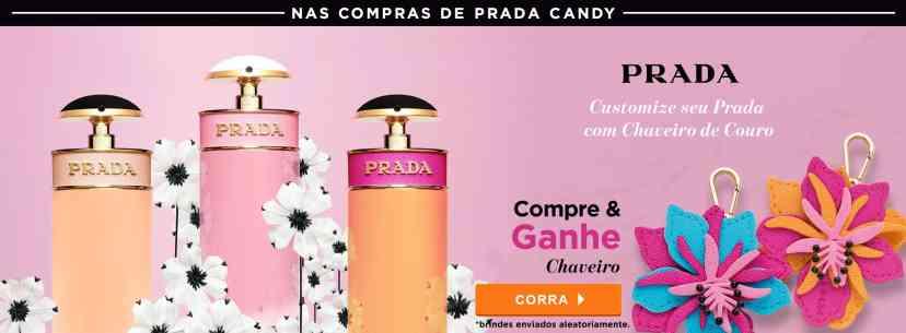 Perfumes: Prada: Compre e Ganhe Chaveiro