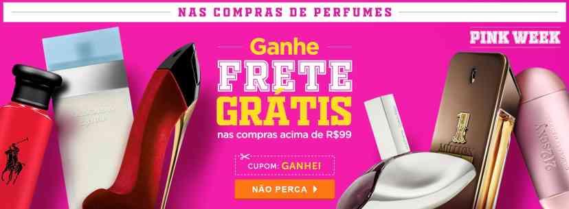 Perfumes: Principal: Ganhe Frete Grátis acima de R$99