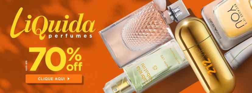Perfumes: Liquida importados com até 60% off