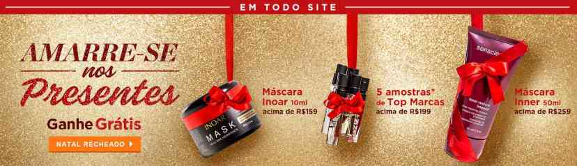 Home: Principal Natal: Amarre-se nos presentes progressiva de brindes